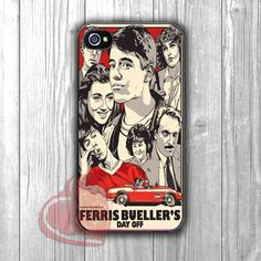 ferris vintage movie poster-1ny for iPhone 4/4S/5/5S/5C/6/ 6+,samsung S3/S4/S5,samsung note 3/4