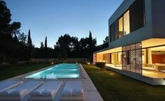1000 images about piscinas on pinterest arquitetura for Piscinas minimalistas