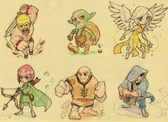 clash of clans characters real life drawings - Google Search