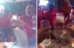 Hampir Goyah Muslimah Ini Sadar Ketika Seluruh Meja Gala Dinner J&T Dipenuhi Miras