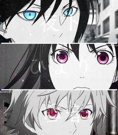 Yato, Hiyori and Yukine.