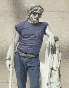 El toque Hipster en la antigua Grecia de Léo Caillard
