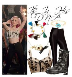 Perrie Edwards How Ya Doin Music Video by katiehorror on Polyvore featuring polyvore fashion style ASOS clothing