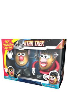 Star Trek Spock and Uhura Mr. Potato Head Collectors Set on HauteLook