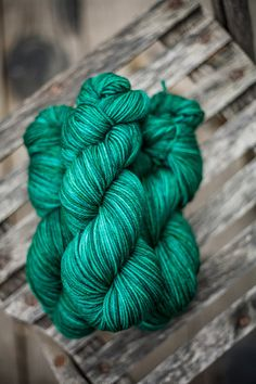 "Hayden DK Superwash Merino Yarn ""Emerald City"""