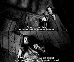 You'd know all about the madness within, wouldn't you? - Sirius to Remus