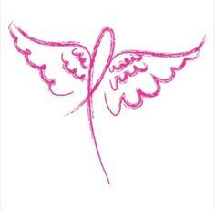 Angel Wings breast cancer Adult White Tshirt New by shirtking, $14.00                                                                                                                                                                                 More
