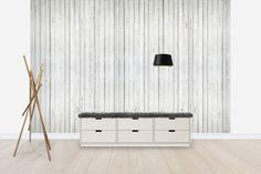 Whitewash Wood - Tapetit / tapetti - Photowall