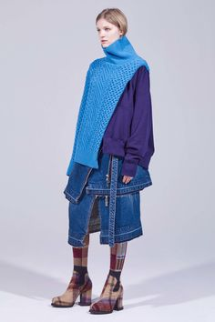 Sacai Pre-Fall 2018 Collection - Vogue