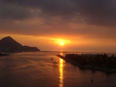 Sunset in Manzanillo, Mexico