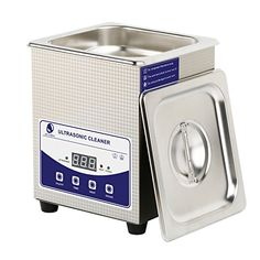 Skymen Professional Ultrasonic Cleaner Bath With Digital Timer for sale online Ultrasonic Jewelry Cleaner, Car Workshop, Stainless Steel Tanks, Digital Timer, Degas, Antique Shops, Cleaning Solutions, Chihuahua