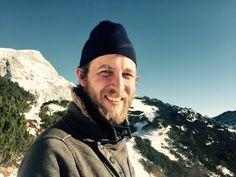 Philipp the wanderer in Berchtesgaden