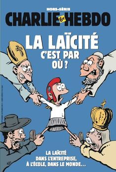 Caricatures, Front National, Charlie Hebdo, Embedded Image Permalink, Religion, Cartoon, Comics, Cover, Books