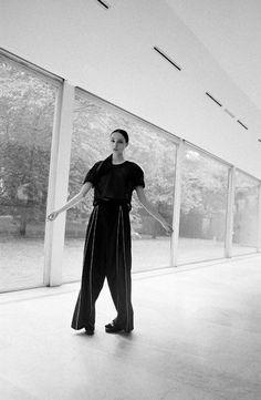 THE METHOD  UNIVRS Trousers by Stefano Lo Muzio Fall/Winter 2013-14  STYLING | Nicola Baratto PHOTOGRAPHY | SCANDEBERGS HAIR | Marco Steri MODELS | Catlin Dudar, Marija Dichevska