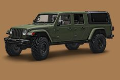 The 2020 Jeep Gladiator may not be the most work-ready truck on the market, nor is it the cheapest. But Jee. Jeep Jk, Jeep Garage, 2007 Jeep Wrangler, Jeep Pickup Truck, Truck Flatbeds, Trucks, Jeep Wrangler Accessories, Jeep Accessories, Car Tent