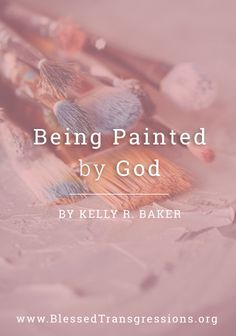 You are the canvas, white, and fresh, ready now to become into what only the Painter can truly see in His mind's eye. No one has a more accurate picture of you than He does. He sees you as a certain finished product that will be completed at some point in the future. {Click to read more}