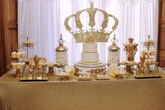 Prince Baby Shower Party Ideas | Photo 1 of 59 | Catch My Party