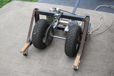 Power RV trailer dolly / mover with AC motor.  Plans included with a video of it working