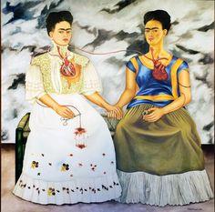 The Two Fridas, c.1939 By Frida Kahlo #womensartpic.twitter.com/EdXOhC0UQq