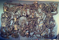 ARTIST OF THE WEEK - ZIO ZIEGLER http://www.widewalls.ch/artist-of-the-week-zio-ziegler-2015/ #contemporary #urban #art