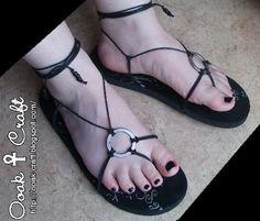 Ooak☥Craft: Cómo reciclar sandalias