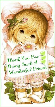 You really are a wonderful friend, and I do thank you. Blessings. xoxo