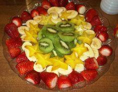 פירות העונה שהכינה דיאנה וטורי - צילם ישראל פרקר