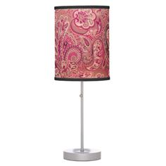 Girly Pink Lamps such as these are wonderful for a girl's room. These lamps would look nice as an accent piece sitting on her desk.
