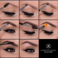 Instagram Eyebrows | The Guide to Making Instagram Makeup Trends Wearable, check it out at http://makeuptutorials.com/instagram-makeup-tutorials/