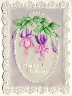 Parchment Design, Diy And Crafts, Paper Crafts, Parchment Cards, Artist Trading Cards, Card Maker, Craft Patterns, Decoupage, Greeting Cards