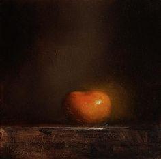 Neil Carroll Original Oil Painting Still Life Clementine