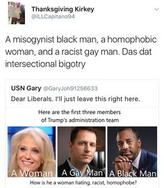 Internalized bias is a problem. All of these people are working against their best interest.