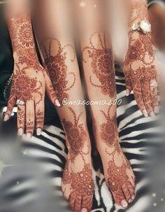 Leg Henna Designs, Pretty Henna Designs, Modern Henna Designs, Bridal Henna Designs, Henna Tattoo Designs, Bridal Mehndi Designs, Henna Tattoo Hand, Foot Henna, Henna Tattoos