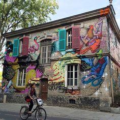 #photo #Paris19 #streetart La gentrification m'a tuer @Menilmuche #PEAV