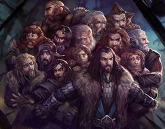 "BAHA! Kili's all like ""Let me at 'em!!!"" and Fili's like ""Stay put!"" - and don't even get me started on Thorin protecting his Company! <3"