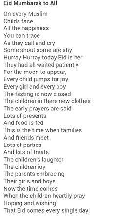 Eid poem poems pinterest poem and ramadan eid poem stopboris Image collections