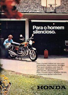 Motos Antigas : Propagandas