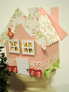 Rose Cottage Project was created using products and the Welcome Home template from www.mytimemadeeasy.com