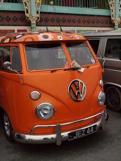 VW camper by Bandit Babe, via Flickr
