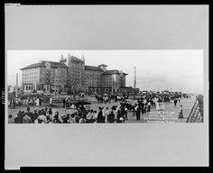 Million dollar Hotel Galvez on Seawall Boulevard, Galveston, Texas Copyright by H.H. Morris, Galveston, Texas.