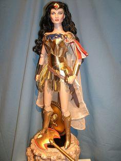 warrior wonder woman by wondersteve1972, via Flickr