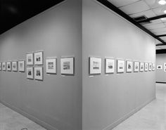 Installation view of Adams's work in the exhibition New Topographics: Photographs of a Man-Altered Landscape, George Eastman House, Rochester, New York, 1975.