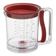 Fat Separator Grease Strainer Measuring Cup Kitchen Gravy Cook Stock Jus Oil Top #Amco