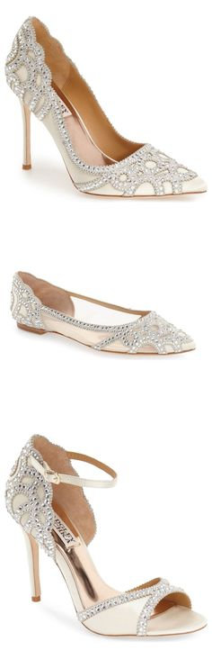 Stunning bridal shoes