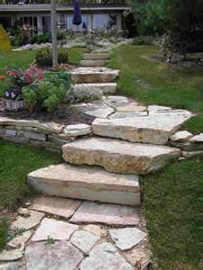 1000 images about flagstone steps on pinterest for Landscaping rocks kitsap county