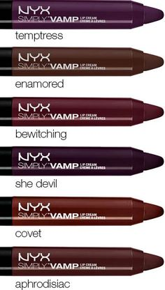 It's a red so deep it's almost purple. A must for fall...
