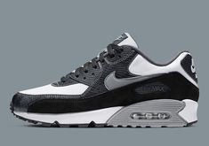 "The Nike Air Max 90 QS ""Python,"" a 2002 classic, will re-release on June Check out our store list to see where you can get a pair. Tenis Nike Air, Nike Air Shoes, Nike Shoes Outfits, Running Shoes Nike, Air Max Sneakers, Skate Shoes, Shoes Sneakers, Nike Air Max Mens, Nike Air Max For Women"