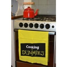 Pano de Prato Cooking For Dummies