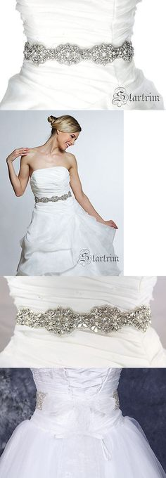 Other Bridal Accessories 106128: Opal Wedding Bridal Crystal Pearl Sash , Belt -> BUY IT NOW ONLY: $78 on eBay!