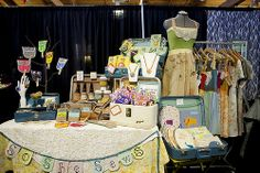 Craft Booth Display Ideas | Stitched in Color: Craft Show {Booth Design}